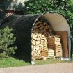 Abri tunnel 9m2 pour rangement du bois - Agrimec