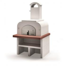 Four à pizza complet Easy médium en pierre